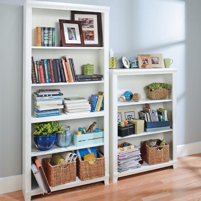 Stylish Ideas For Arranging And Organizing Bookcases: Beautiful Bookcase Arrangements