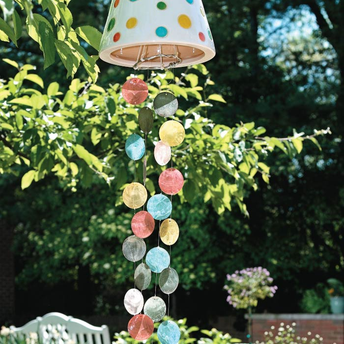 Create Your Own Colorful Wind Chimes My Home My Style