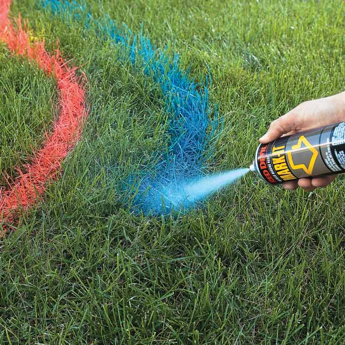 Colored Spray Paint For Grass