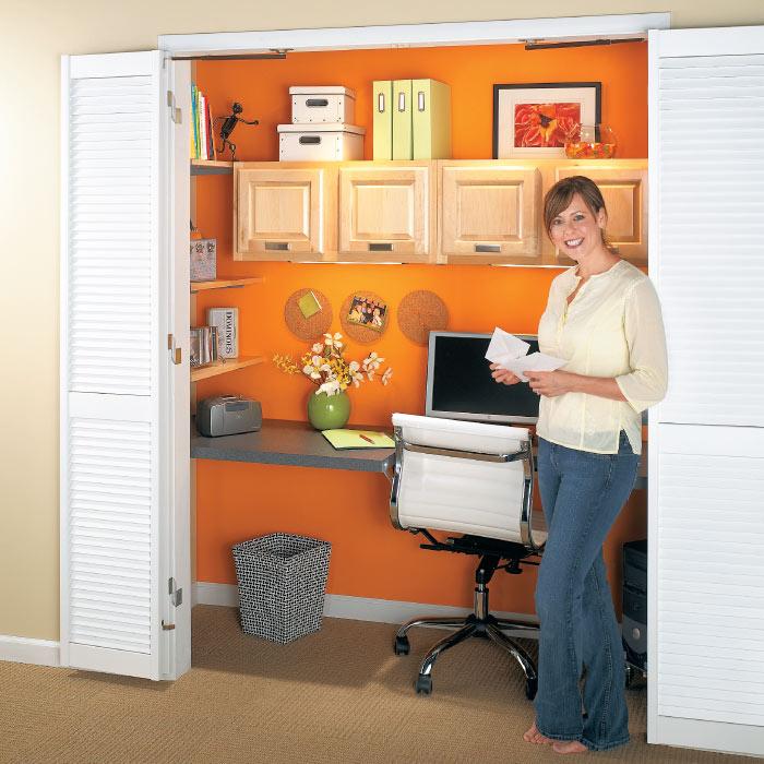 Compact Closet Office