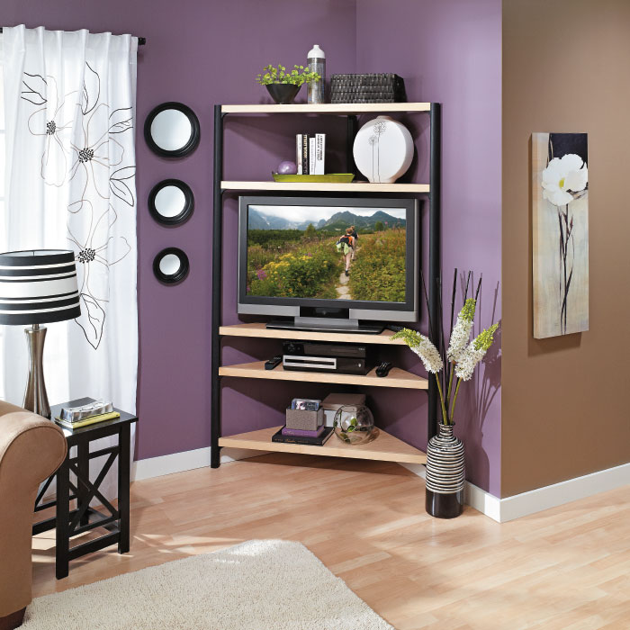 Separate adjoining spaces with paint my home my style for Adjoining wall