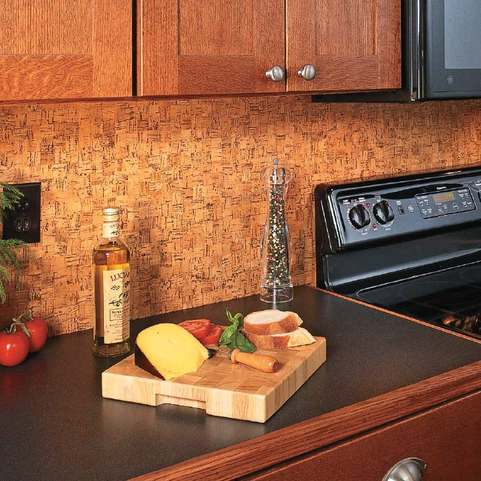 Http Www Myhomemystyle Com Enotes 2012 10 19 Update A Backsplash With Cork Flooring