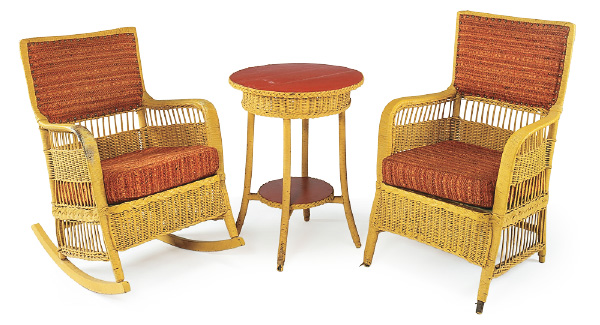 Give Old Wicker Furniture A New Look My Home My Style