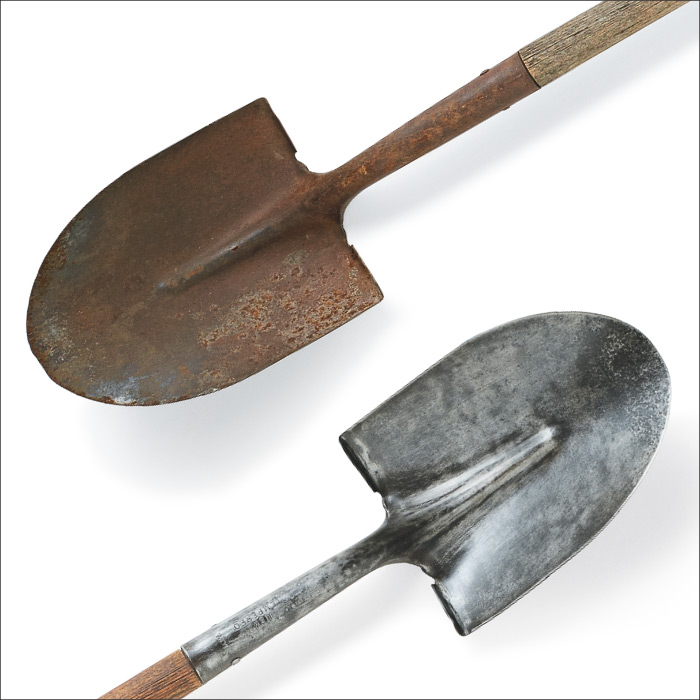 Revive A Rusty Shovel My Home My Style