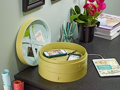 Steamer Basket Charging Station