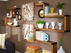Custom Wall Shelf System