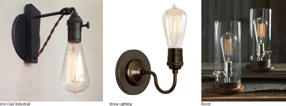 It 39 s all about the bulbs my home my style - Roost edison lamp ...