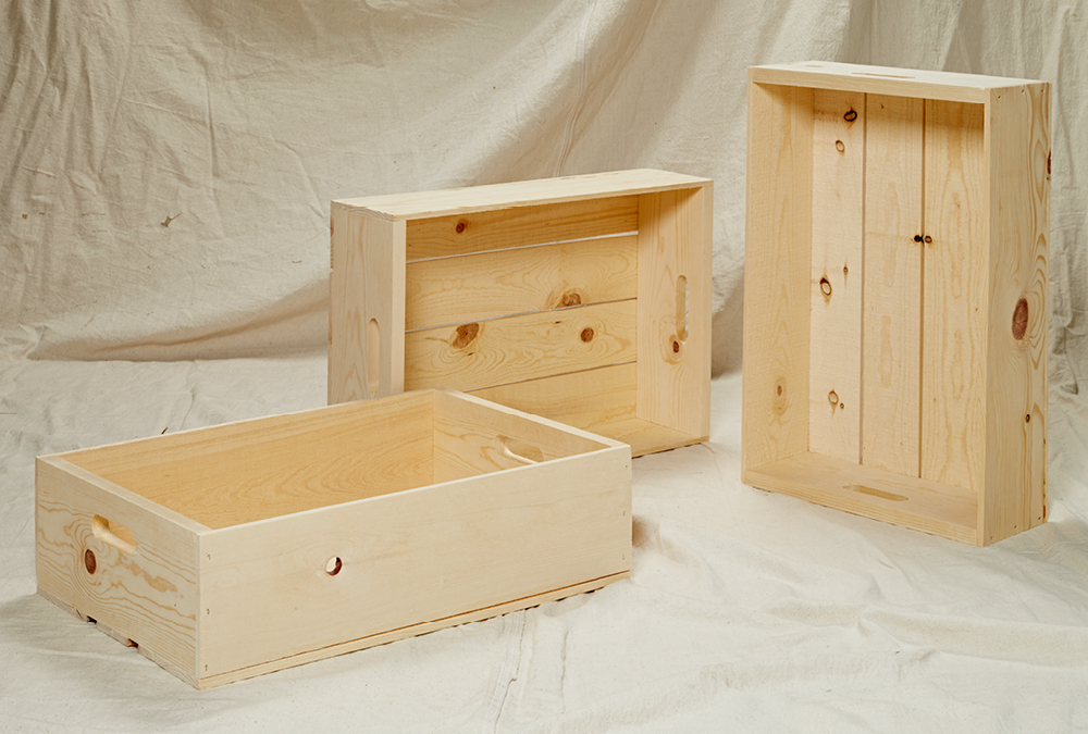 DIY Wood Crate Project   My Home My Style