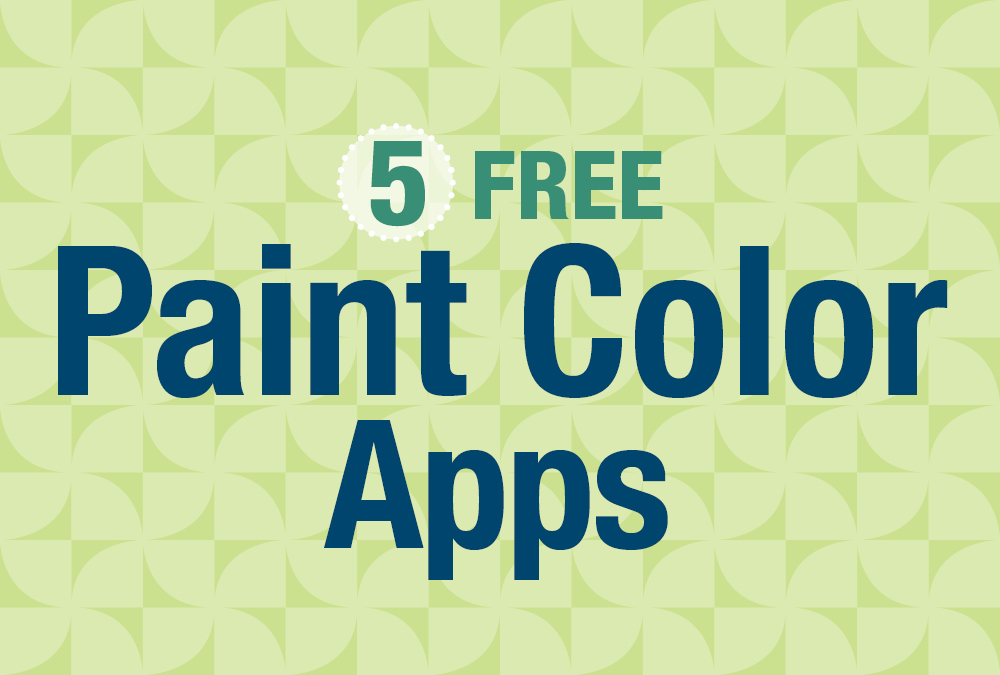 5 Free Paint Color Apps