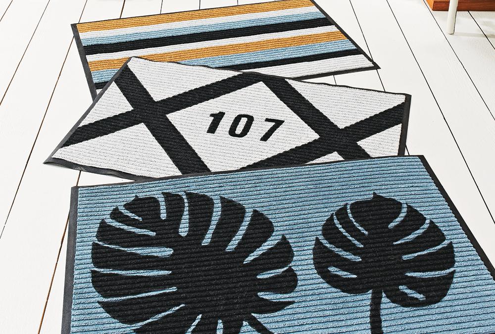 Painted Doormat Design Options