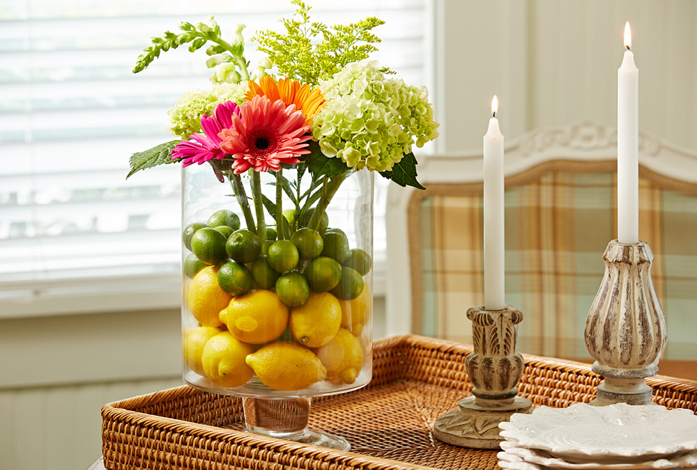 Liven Up Flowers With Vase Fillers My Home My Style