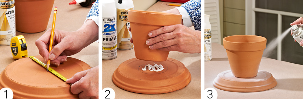 Terra Cotta Pots How-to