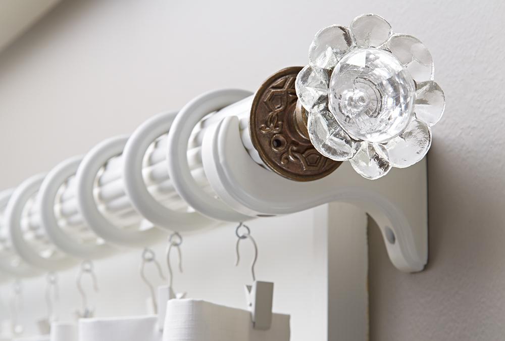 Custom Finials: Use a Door Knob | My Home My Style